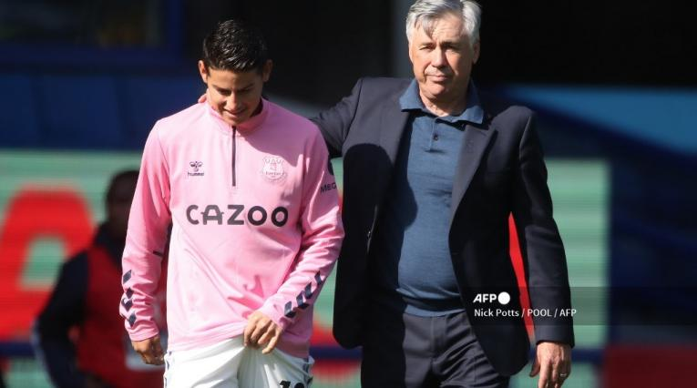 James Rodríguez, Carlo Ancelotti