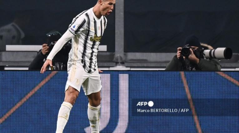 Cristiano Ronaldo, goleador de la Juventus