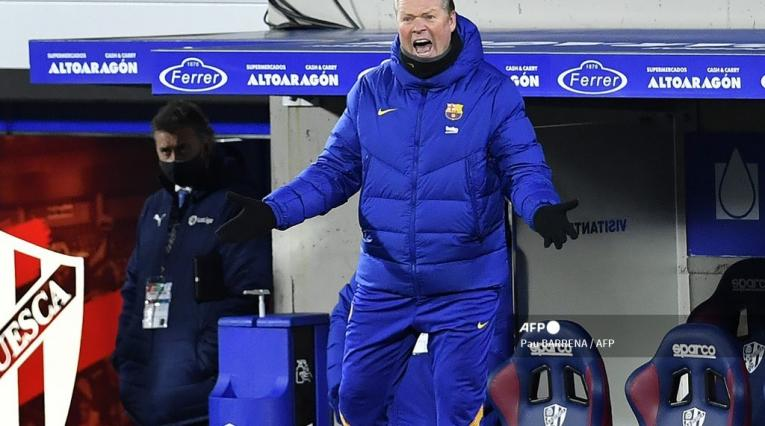 Ronaldo Koeman, entrenador de Barcelona