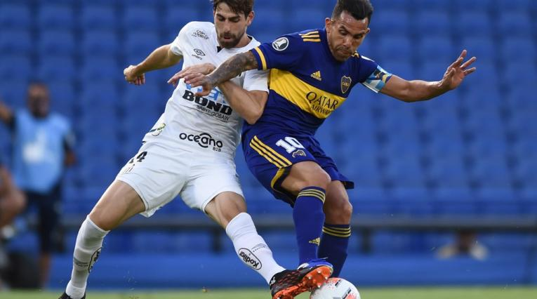 Santos vs Boca Juniors; Copa Sudamericana