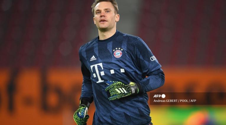 Manuel Neuer, arquero del Bayern Munich