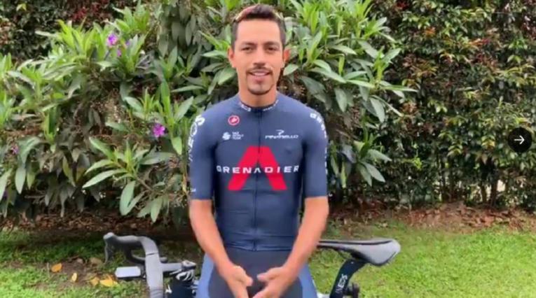 Daniel Felipe Martínez, ciclista colombiano del Ineos