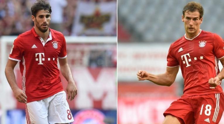 Javi Martínez y Goretzka, Bayern Munich