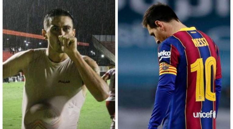 Lionel Messi y su primo