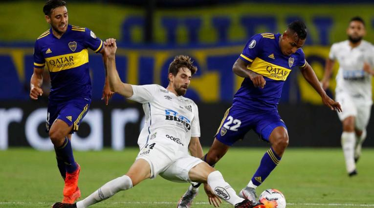 Boca Juniors vs Santos