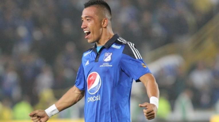 Fernando Uribe, delantero de Millonarios