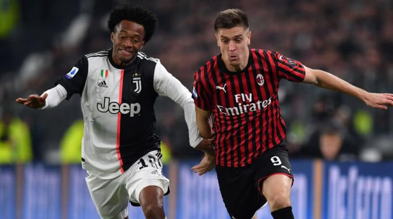 Juventus vs Milan, Serie A