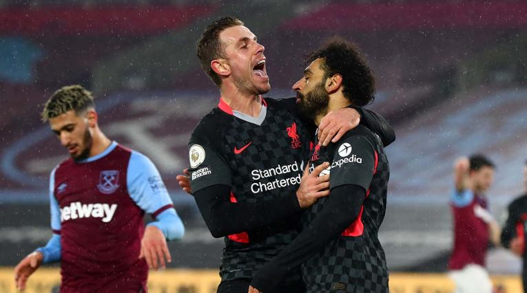 Liverpool derrotó al West Ham