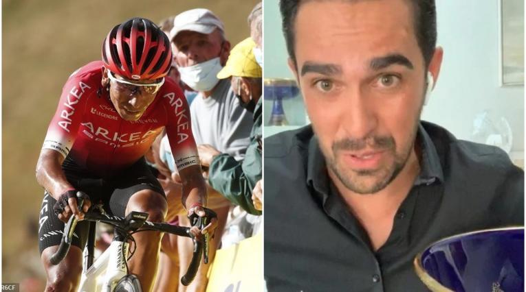 Nairo Quintana y Alberto Contador