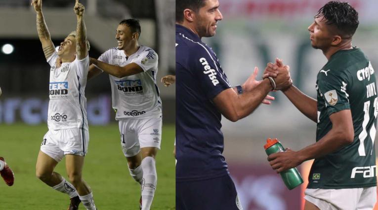 Santos y Palmeiras