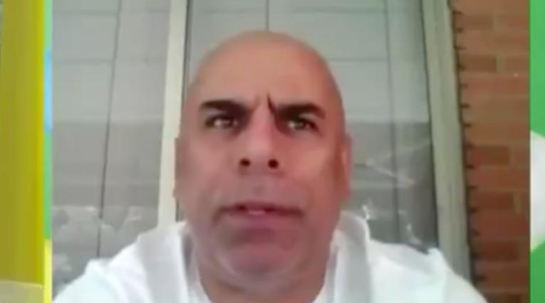 Captura de pantalla, 'Chicho' Serna
