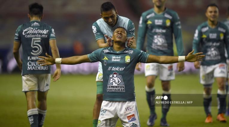 Yairo Moreno, futbolista colombiano en León