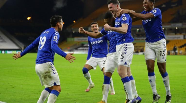 James Rodríguez, Everton, Premier League