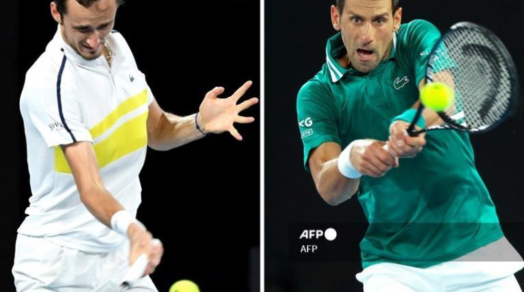 Medvedev VS Djokovic, final Australia Open 2021