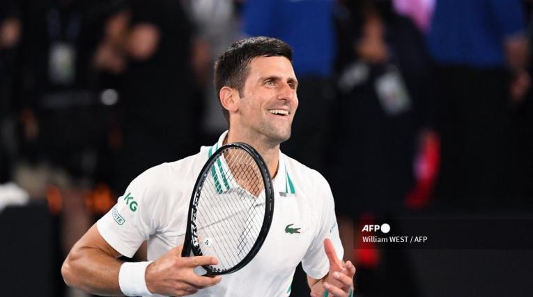 Novak Djokovic, Abierto de Australia