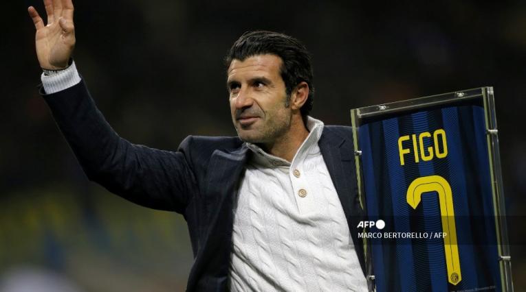 Luis Figo, ex futbolista portugués