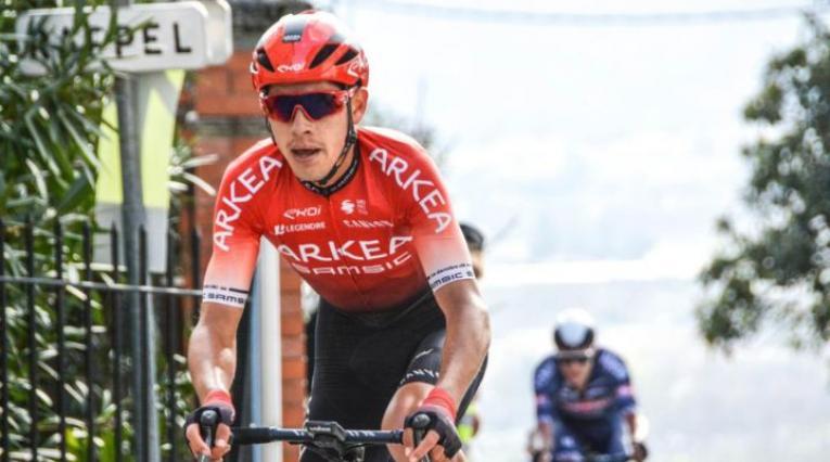 Miguel Flórez, ciclista colombiano del Arkea