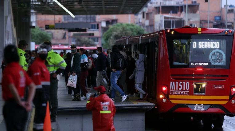Transmilenio, Bogotá