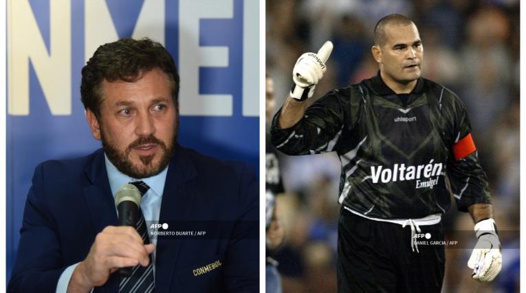 Alejandro Domínguez y José Luis Chilavert