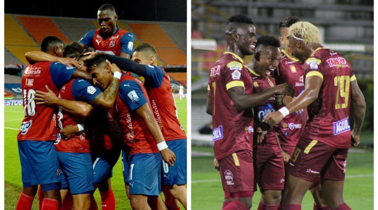 Medellín vs Tolima, fútbol colombiano