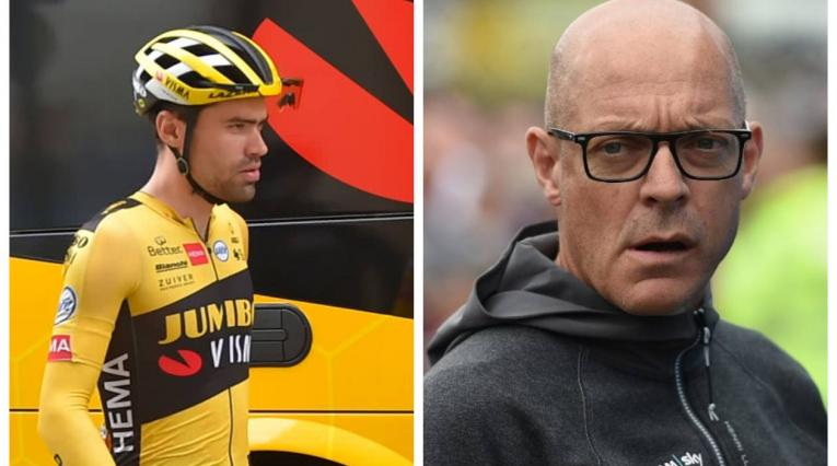 Dave Brailsford y Tom Domoulin