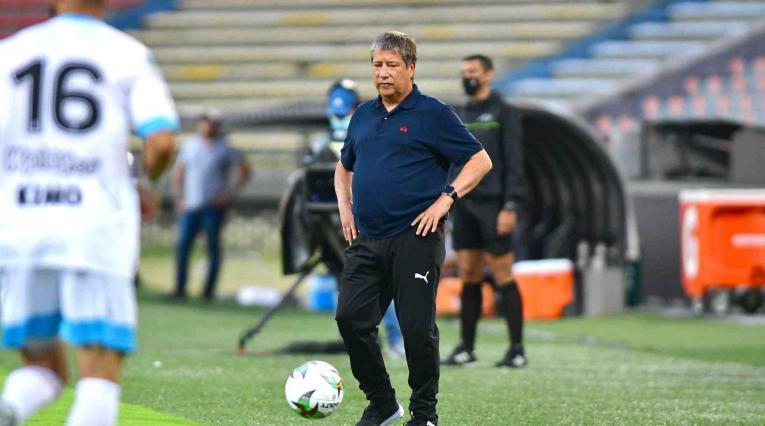 'Bolillo' Gómez, técnico de Independiente Medellín