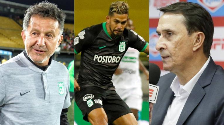 Juan Carlos Osorio, Rifle Andrade, Alexandre Guimaraes, Atlético Nacional