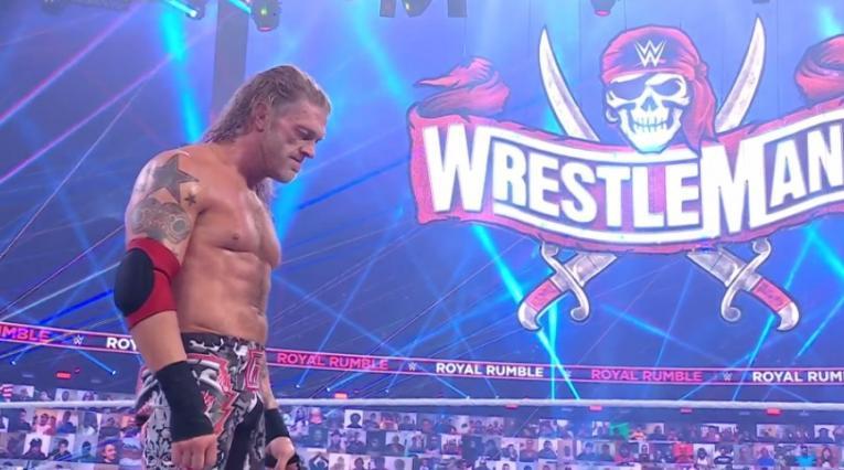 Edge - Royal Rumble WWE