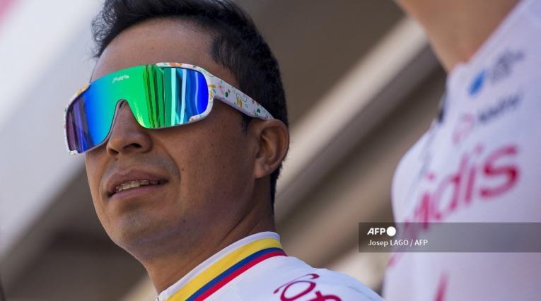 Darwin Atapuma, ciclista colombiano