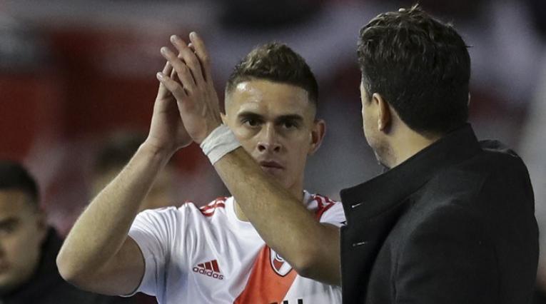 Rafael Santos Borré y Marcelo Gallardo - River Plate