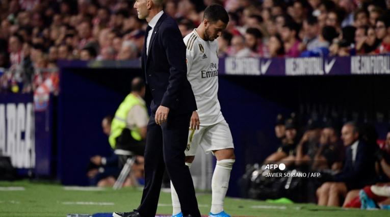 Zidane y Hazard, 2020