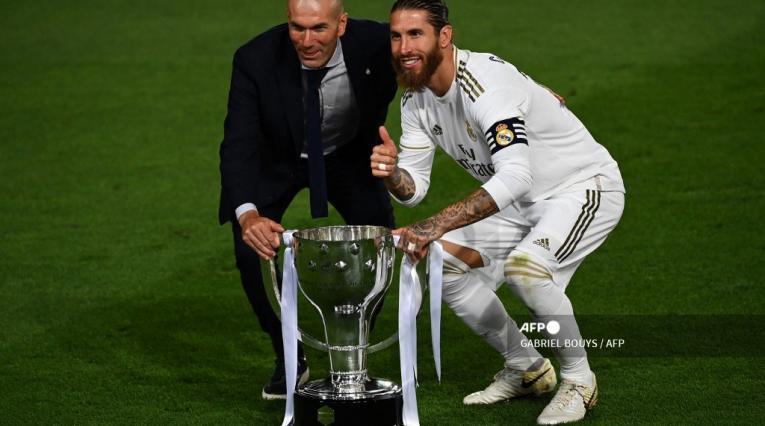 Sergio Ramos y Zidane - Real Madrid