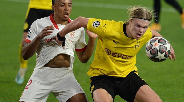 Borussia Dortmund vs Sevilla, Champions League