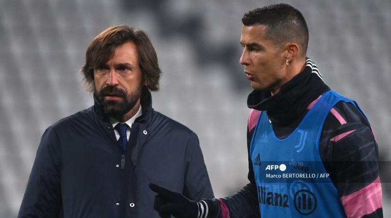 Andrea Pirlo, Cristiano Ronaldo; Juventus 2021