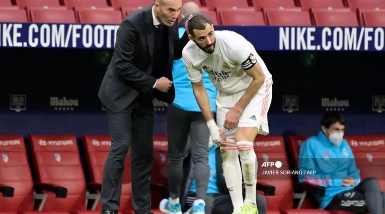 Zinedine Zidane, real Madrid, Karim Benzema