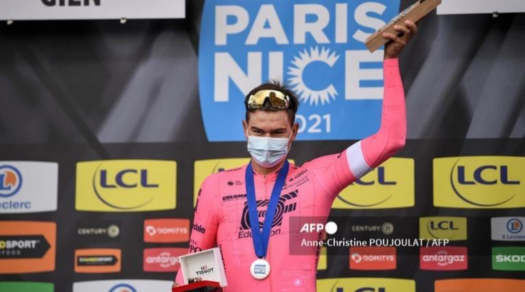 Stefan Bissegger, ciclista de la París - Niza