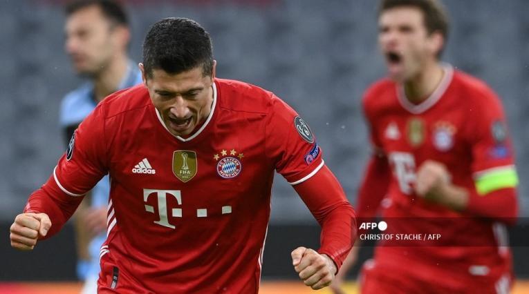 Bayern Munich vs Lazio, Champions League