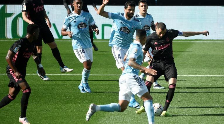 Celta de Vigo vs real Madrid, Karim Benzema
