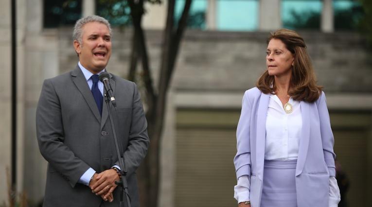 Iván Duque, Marta Lucía Ramírez