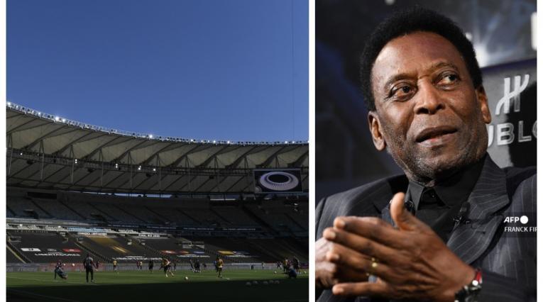 Estadio Maracaná y Pelé