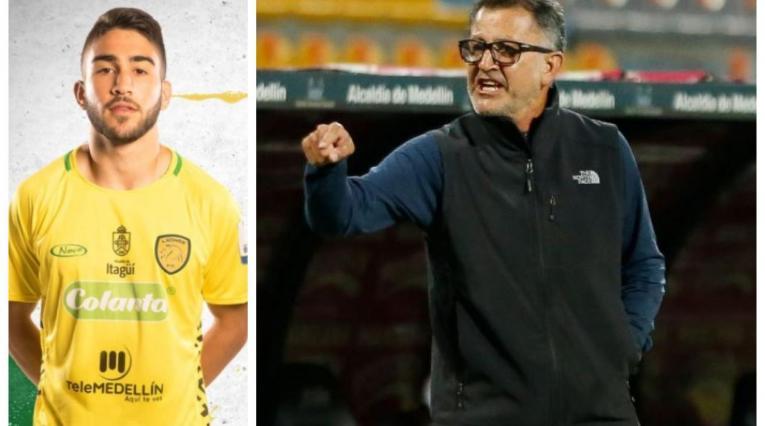Juan Carlos Osorio y su hijo