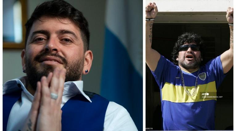 Diego Maradona junior, hijo de Diego Maradona