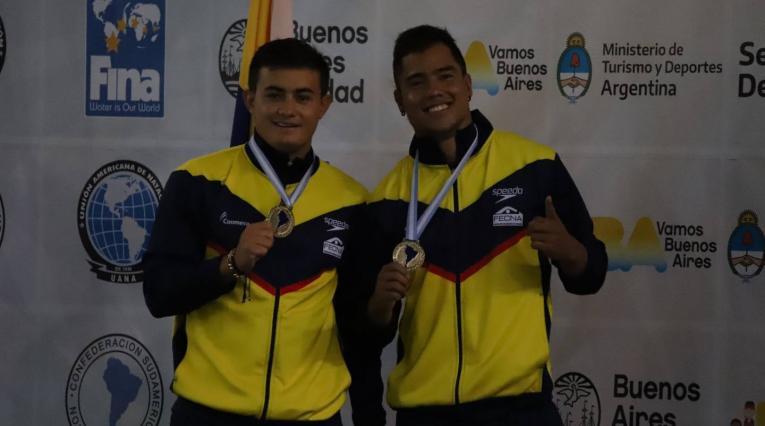 Sebastián Morales y Daniel Restrepo