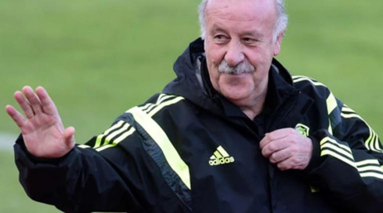 Vicente del Bosque, técnico de España