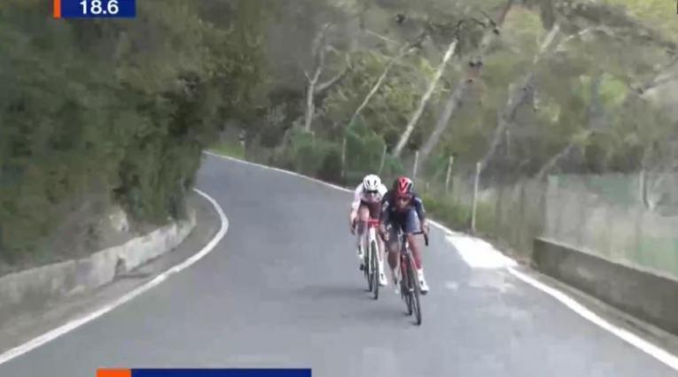 Egan Bernal en el Trofeo Laigueglia