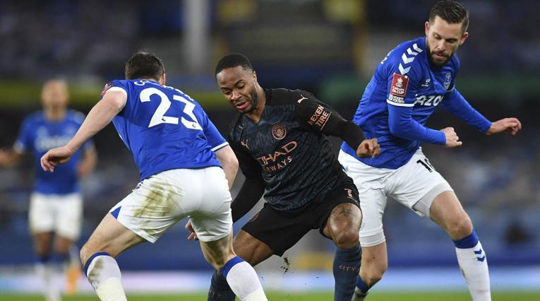 Manchester City eliminó al Everton 2021