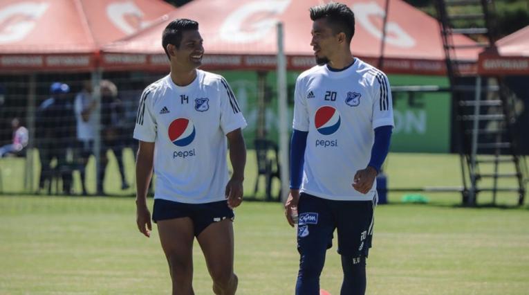 Macalister Silva y Fernando Uribe - Millonarios 2021