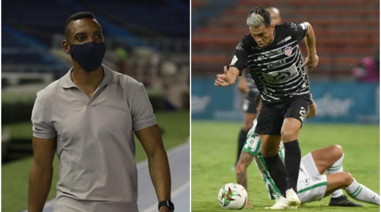 Amaranto Perea y Teo Gutiérrez