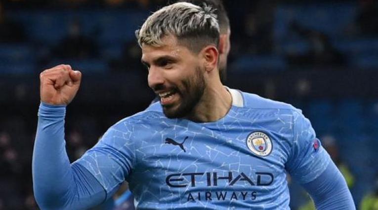 Sergio Agüero, goleador del Manchester City