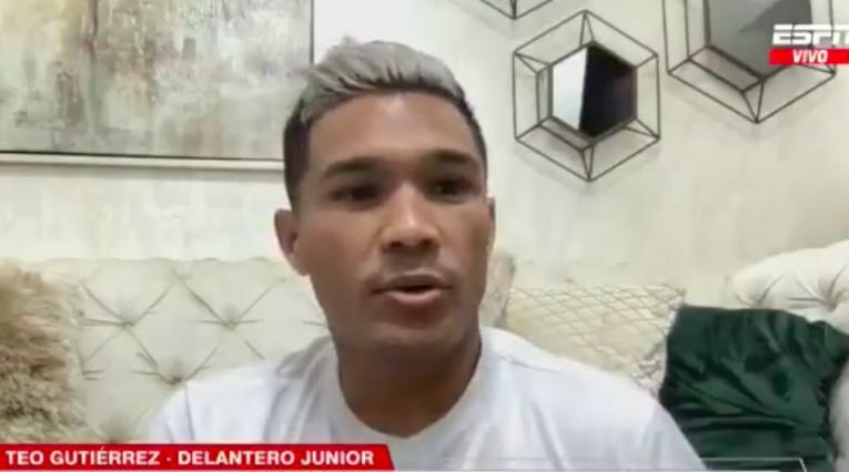 Junior, Teófilo Gutiérrez